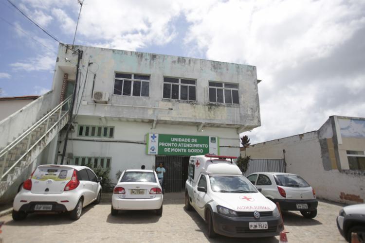UPA de Monte Gordo, distrito de Camaçari - Foto: Joá Souza | Ag. A TARDE