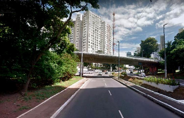 No acesso sentido Vale do Canela não haverá alterações - Foto: Reprodução | Google Street View