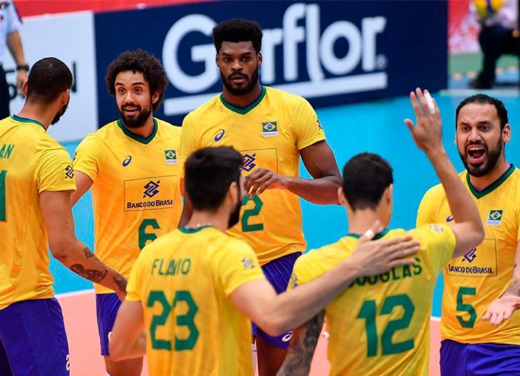 Brasil ganhou fácil da Tunísia, por 3 sets a 0 - Foto: Divulgação   FIVB