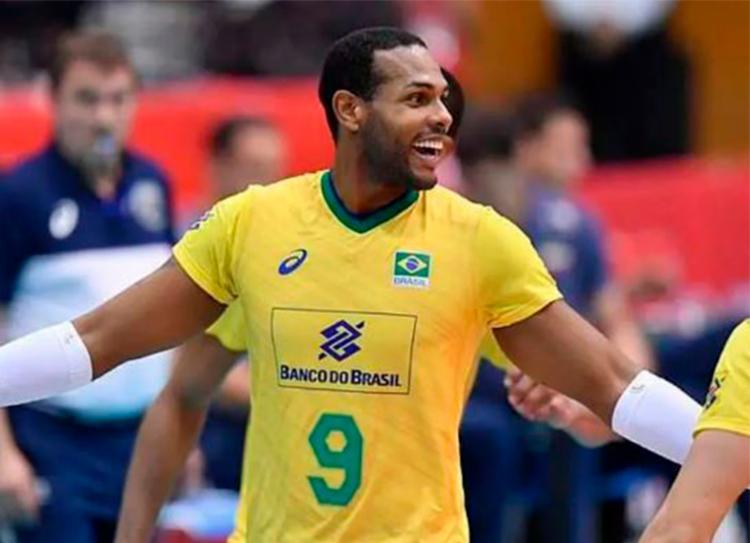 Brasil somou o sexto triunfo na competição ao derrotar a Argentina por 3 sets a 0 - Foto: Divulgação | FIVB