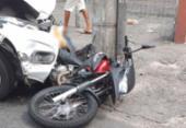 Após assalto e perseguição, suspeito tem perna amputada | Foto: Cidadão Repórter | Via Whatsapp