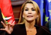 Em sessão esvaziada, senadora Jeanine Áñez se declara presidente da Bolívia   Foto: