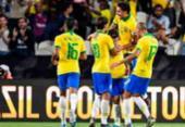 Brasil faz 3 a 0 na Coreia do Sul e quebra jejum sem vitórias | Foto: Karim Sahib | AFP