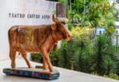 Vacas da CowParade vão a leilão em prol de projetos sociais | Foto: Ulisses Dumas