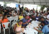 Almoço para moradores de rua marca Dia Mundial dos Pobres | Foto: Felipe Iruatã | Ag. A Tarde