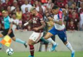 Bahia perde para o Flamengo, fora de casa, e completa seis jogos sem vencer | Foto: Alexandre Vidal | Flamengo