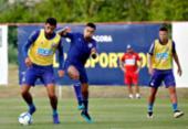 Com desfalques, Roger esboça time titular para duelo contra o Goiás | Foto: Felipe Oliveira | EC Bahia