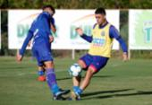 Parte dos titulares é poupada e não participa de treino do Bahia | Foto: Felipe Oliveira | EC Bahia