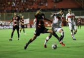 Vitória adia permanência e empata com CRB em duelo de quatro gols | Foto: Uendel Galter | Ag. A TARDE