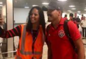 Após conquistar a permanência, Vitória desembarca em Salvador e tira folga | Foto: Divulgação | EC Vitória
