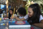 Arte diminui ansiedade de estudantes às vésperas do Enem | Foto: Felipe Iruatã | Ag. A TARDE