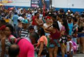 Proclamação da República: movimento de pedestres é intenso nos terminais marítimos | Foto: Rafael Martins | Ag. A TARDE