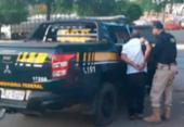 Idoso foragido por estelionato é preso com carro roubado | Foto: Divulgação | PRF