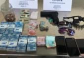 Jovens suspeitos de assaltar farmácias em Salvador são presos | Foto: Divulgação | SSP