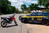 Motocicleta roubada é recuperada no sul da Bahia | Foto: Divulgação | PRF