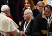 Papa Francisco almoça com moradores de rua no Dia Mundial dos Pobres | Foto:
