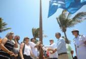 Praia de Guarajuba recebe certificado internacional de qualidade | Foto: Felipe Iruatã | Ag. A TARDE