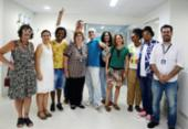 Artistas do CowParade vistam Martagão Gesteira | Foto: Shirley Stolze | Ag. A TARDE