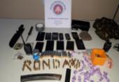 Mulheres são apreendidas com drogas e munições em Mata Escura | Foto: Divulgação | SSP
