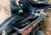 Mulheres ficam feridas em acidente de moto na Bahia | Reprodução | Teixeira Hoje