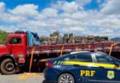 Mais de três toneladas de maconha apreendidas na Bahia | Divulgação | PRF