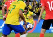 Coutinho dá fim a jejum sem gols de falta na seleção | Khaled Desouki | AFP