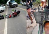 Ciclista morre após ser atropelada em Nova Viçosa | Reprodução | Teixeira Hoje