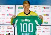 Duelo com o Palmeiras marca jogo número 100 de Douglas | Felipe Oliveira | EC Bahia