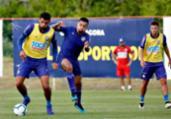 Roger esboça time titular para duelo contra o Goiás | Felipe Oliveira | EC Bahia