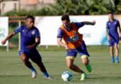 Sem folga: Bahia aproveita feriado para testar equipe   Felipe Oliveira   EC Bahia
