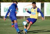 Bahia poupa parte dos titulares em treino | Felipe Oliveira | EC Bahia