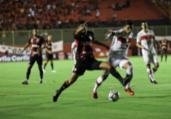 Vitória empata com CRB em duelo de quatro gols | Uendel Galter | Ag. A TARDE