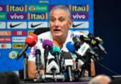 Tite admite 'pressão inevitável' no cargo   Fayez Nureldine   AFP