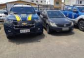 Idoso é preso com carro clonado em Vitória da Conquista | Divulgação | PRF
