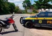 Motocicleta roubada é recuperada no sul da Bahia | Divulgação | PRF