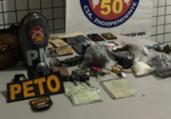 Trio é preso por roubo, tráfico e extorsão em Salvador | Divulgação | Polícia Civil