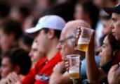 Proibição de bebidas alcoólicas nos estádios | Divulgação