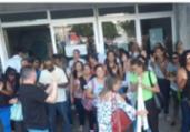 Funcionários protestam no Hospital Roberto Santos   Divulgação   Sindisaúde