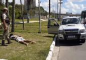 Homem é detido após roubo de carro em Mussurunga   Divulgação   SSP