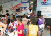 SAC Móvel oferece serviços gratuitos em Simões Filho | Luciano da Matta | Ag. A TARDE