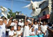 Caminhada luta pela paz e contra ódio e violência | Shirley Stolze | Ag. A TARDE