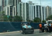 Homem fica ferido em acidente na Av. Juracy Magalhães | Ashley Malia | Ag. A TARDE