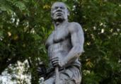 Unegro realiza Lavagem da estátua de Zumbi dos Palmares | Adilton Venegeroles | Ag. A TARDE