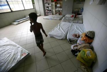 Abrigos provisórios continuam em funcionamento após fortes chuvas em Salvador | Raphael Muller | Ag. A TARDE