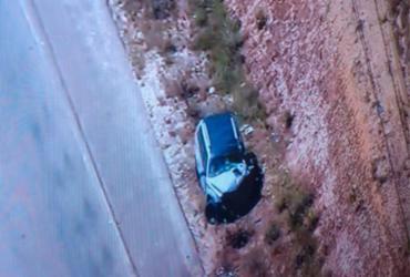 Uma pessoa morre após acidente em estrada de Camaçari | Reprodução | Tv Record