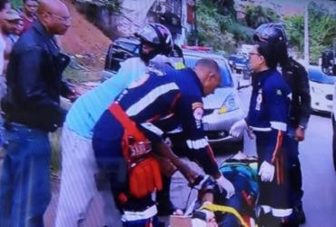 Duas mulheres ficam feridas em acidente na Via Regional | Reprodução | Rede Bahia