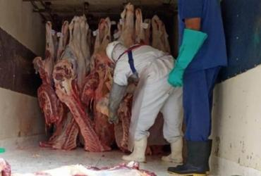 Adab apreende cinco toneladas de carne em uma semana de operação | Divulgação | Adab