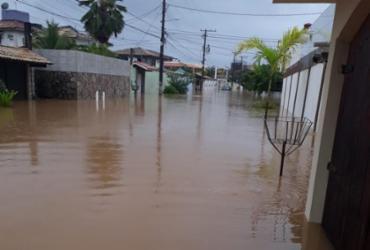 Ruas do bairro de Piatã são afetadas por conta das chuvas | Reprodução | Cidadão Repórter