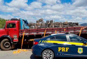 Mais de três toneladas de maconha são apreendidas em rodovia | Divulgação | PRF