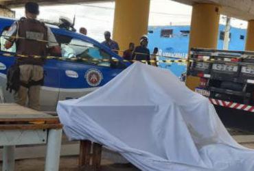 Motorista autônomo é assassinado em Feira de Santana   Denivaldo Costa